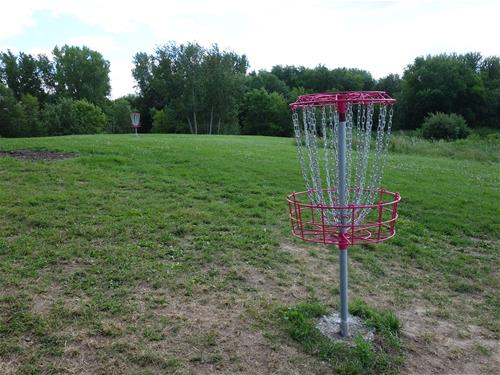 Acorn disc golf - basket